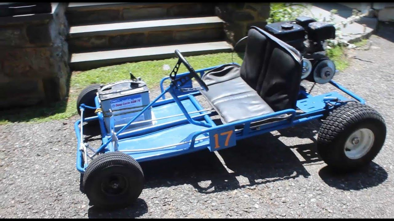 Go Kart 2 Wheel Drive Conversion