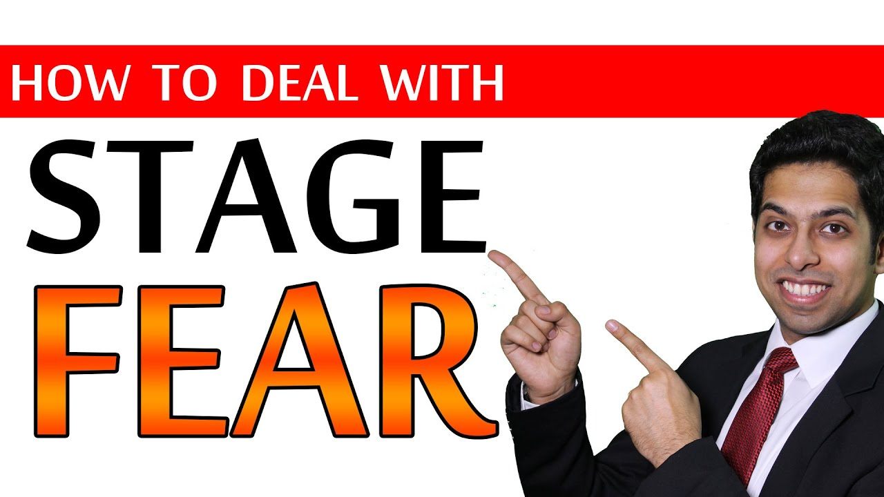 How to deal with STAGE FEAR? (6 Public Speaking Tips ...
