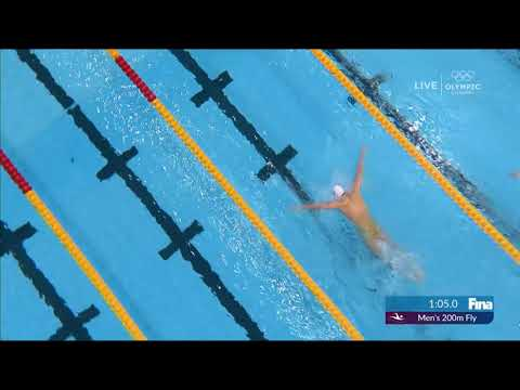2019 World Championship. Swimming, 200m Butterfly, World Record,