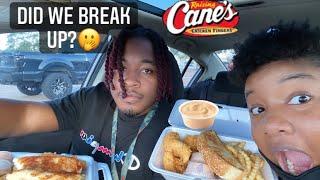 Raising Cane's Mukbang💗! Dİd we break up?🤔