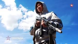 Захватить боевиков: кадры учений разведчиков в Бурятии