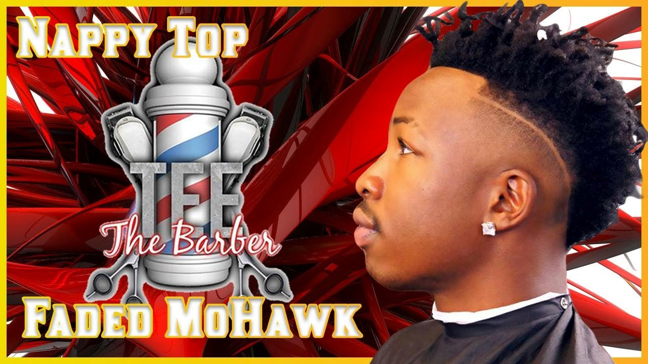 How To Cut Nappy Top Faded Mohawk Allen Crabbe Haircut