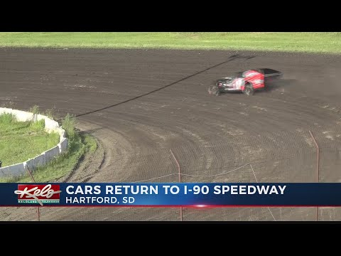 Cars return to I-90 Speedway
