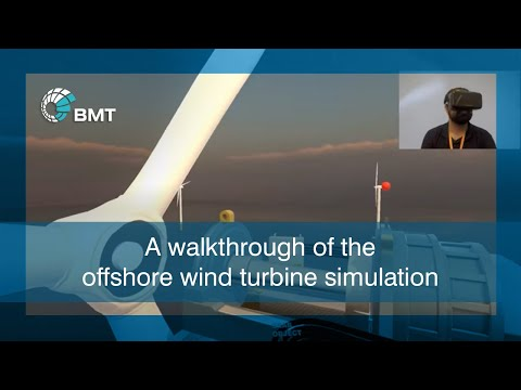 BMT Defence – Wind Turbine Virtual Reality Experience