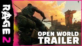 RAGE 2 : Bande annonce du monde ouvert