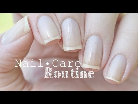 Nail Care Routine   JauntyJuli - YouTube