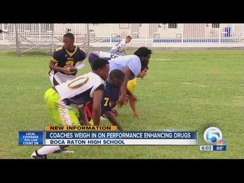 Performance enhancing drugs and high school students