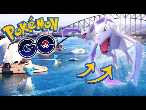 POKEMON GO - Rare Pokemon in Sydney!