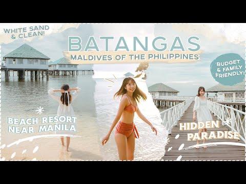 BATANGAS Beach Resort (MALDIVES of the Philippines?!) - New