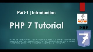 Whats new in PHP 7 | (Introduction) | Part-1
