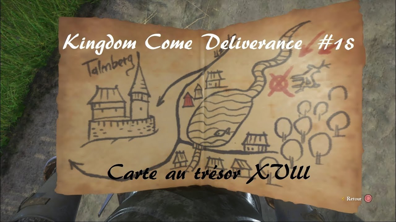 Carte Au Tresor Xviii.Kingdom Come Deliverance Carte Au Tresor Xviii