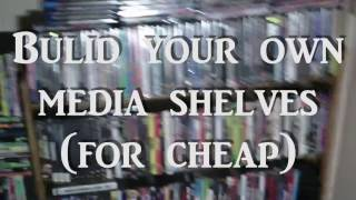 Build Your Own Media Shelf (For Cheap)