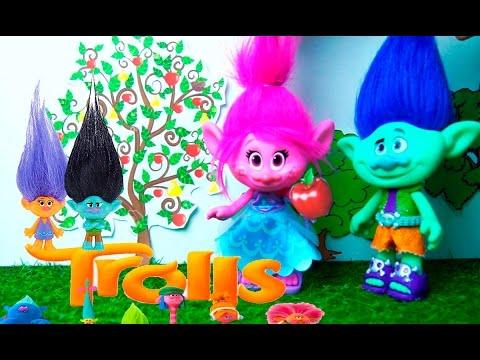 poppy y branch esperan bebes gemelos y el arbol magico