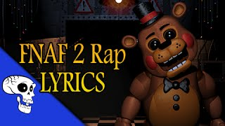 """Five Nights At Freddy's 2 Rap LYRIC VIDEO by JT Music - """"Five More Nights"""""""