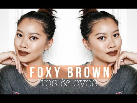 FOXY BROWN LIPS & EYES | IDRESSMYSELFF