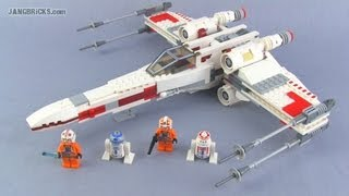 LEGO Star Wars X-Wing 9493 set Review!