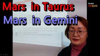 [화성황소l화성쌍둥이] Mars in Taurus-욕망충족이 느리나 꾸준하게 이룬다 / Mars in Gem…