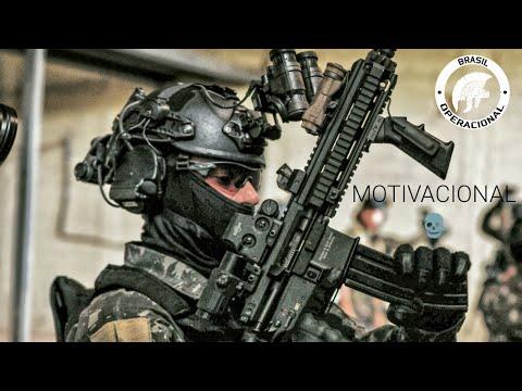 Forças Especiais Brasileiras  MOTIVACIONAL  Brazilian Special Forces