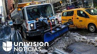 Acumulaciones de nieve causan accidentes vehiculares en el noreste de Estados Unidos