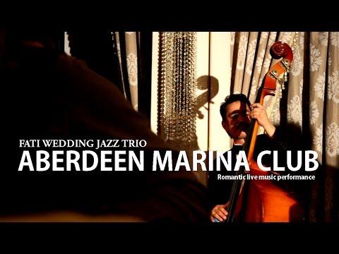 Hong Kong Wedding live jazz band: Jazz Trio (Violin,Saxophone,Double Bass) @Aberdeen Marina Club