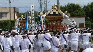 安房神社1300年祭:神余日吉神社白浜下立松原神社の神輿入祭  H30aw03 thumbnail