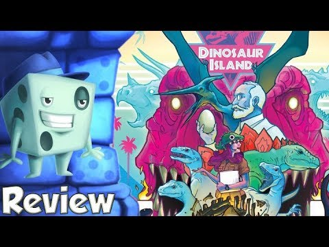 Dinosaur Island Review - with Tom Vasel