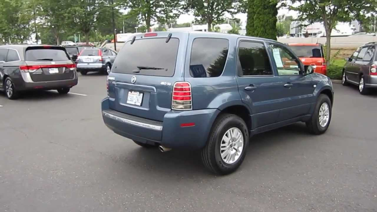 2005 Mercury Mariner Blue Stock 731044