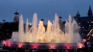 Fontana di placa espanya - barcelona ...