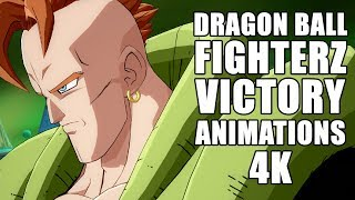 Dragon Ball FighterZ Victory Animations [4K] BEST ON YOUTUBE