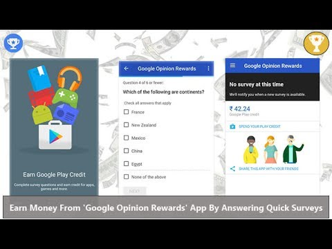 Earn Money From 'Google Opinion Rewards' App By Answering Quick Surveys
