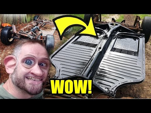 Replace VW Floor Pans in 10 Minutes - (VW Thing)