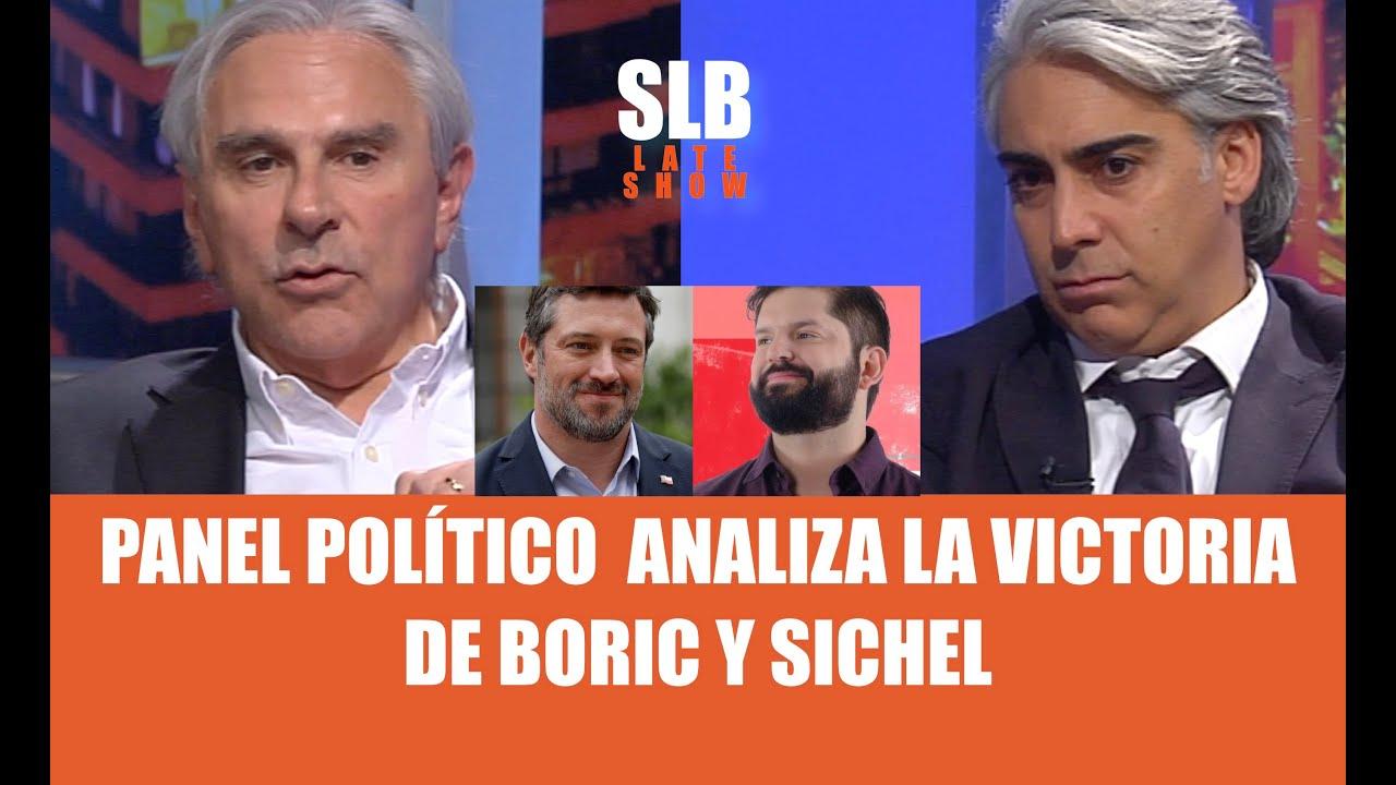 SLB. POLÍTICOS: El día después del triunfo de Boric y Sichel