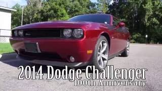 Dodge Challenger 100Th Anniversary Edition 2014 Videos