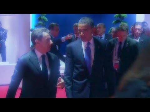 Obama, Sarkozy's open mic mishap