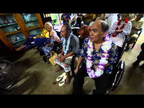 Pacific Partnership Visits Nursing Home in Samoa