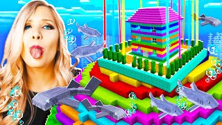 NEVER Break Into My Wife\'s IMPOSSIBLE Underwater Minecraft House...