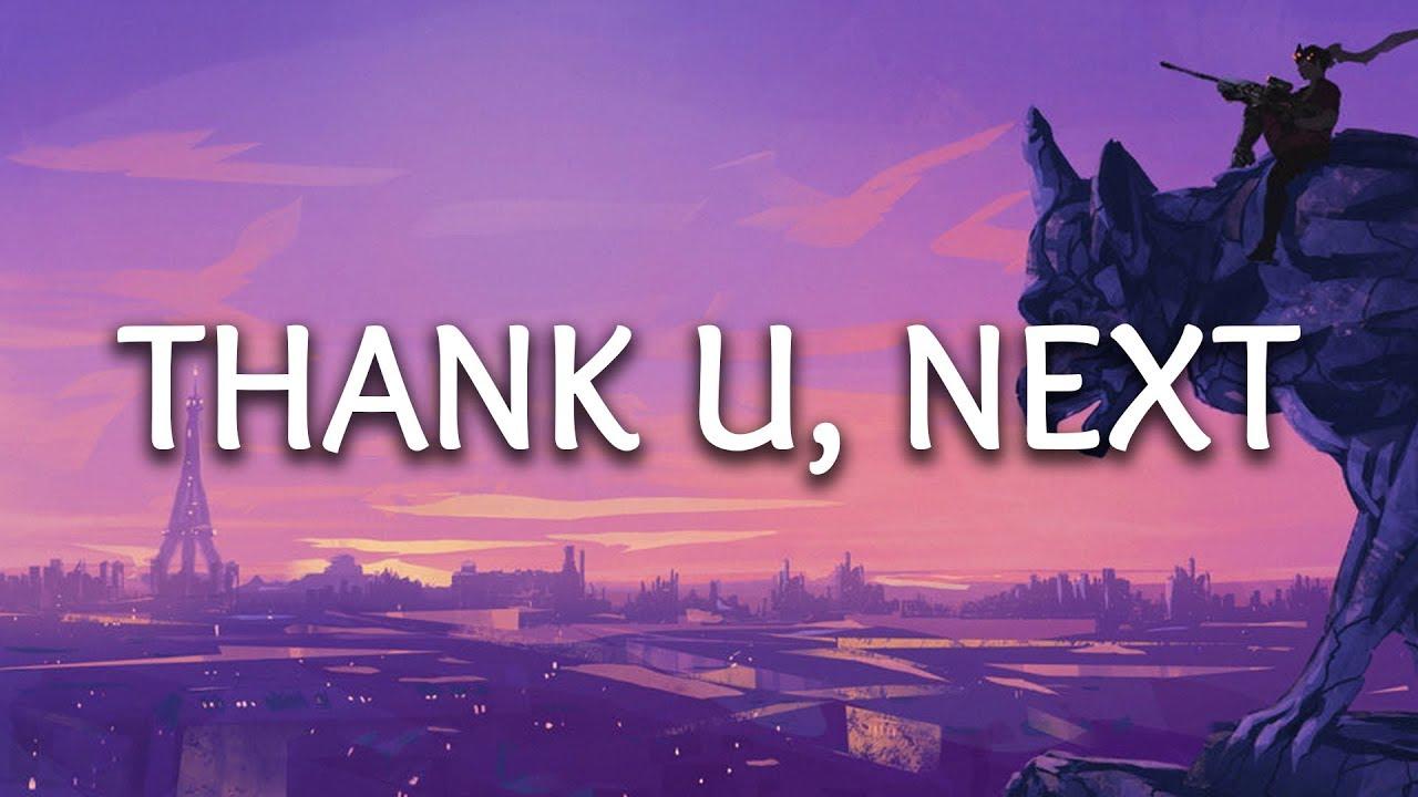 Ariana Grande ‒ thank u, next (lyrics) image