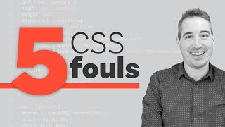 5 CSS mistakes that I see way too often
