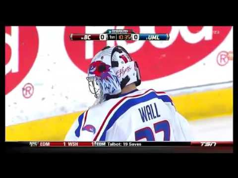 College Hockey 14 Boston College at 5 UMass-Lowell 2/24/17