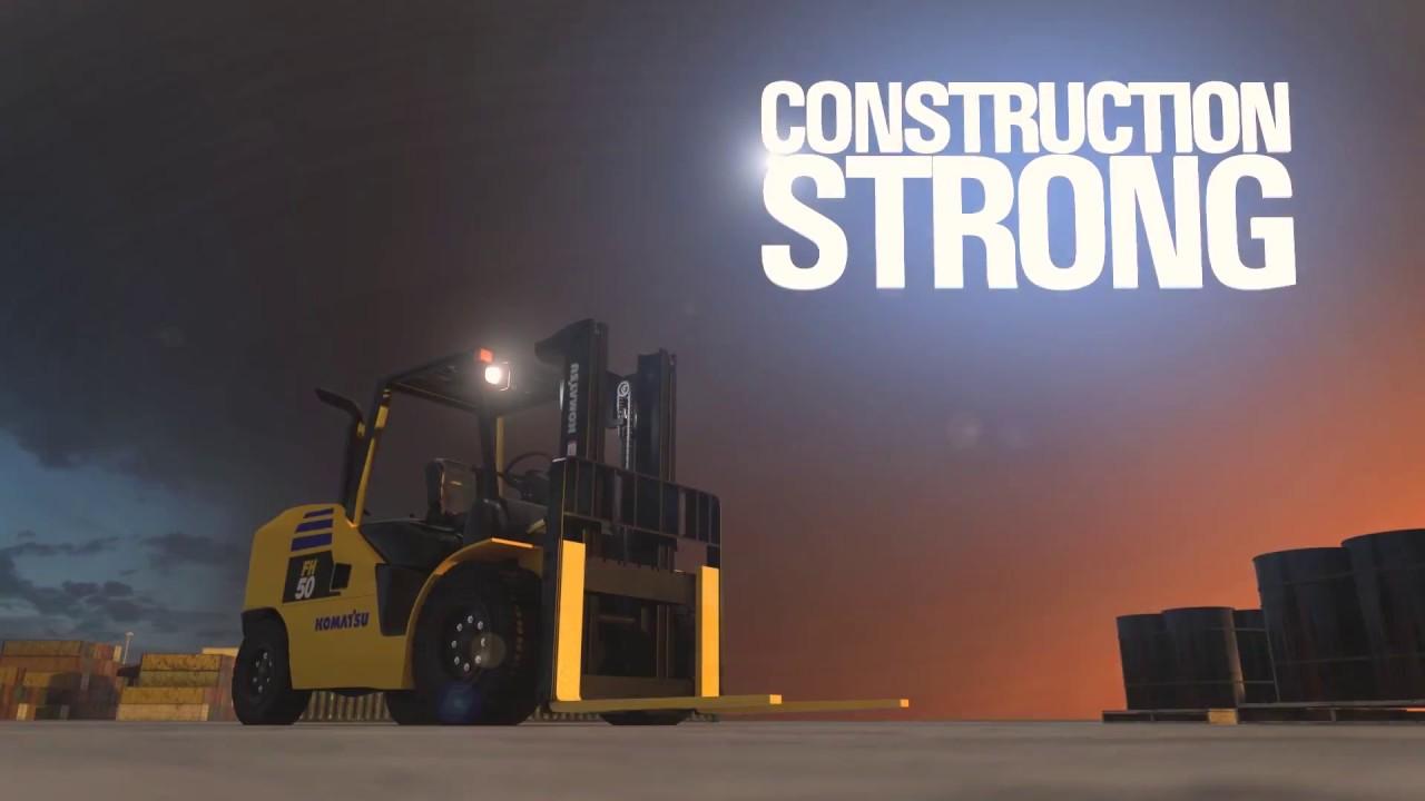 Forklifts | Komatsu America Corp