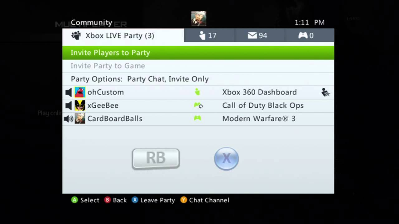 Xbox Live Party Glitch How To Join An Invite Only Party YouTube – Invite to Party