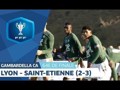 Gambardella CA, 64es de finale : Ol.Lyonnais - AS Saint-Etienne (2-3), résumé I FFF 2018