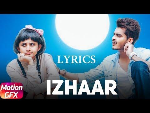 Izhaar Lyrics Song   Gurnazar  Kanika Mann Punjabi Song