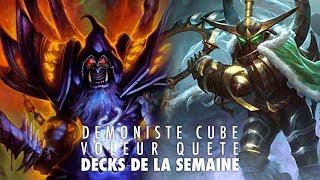 Voleur Quête & Démo Cube - Decks de la semaine avec Odemian et Maverick #105