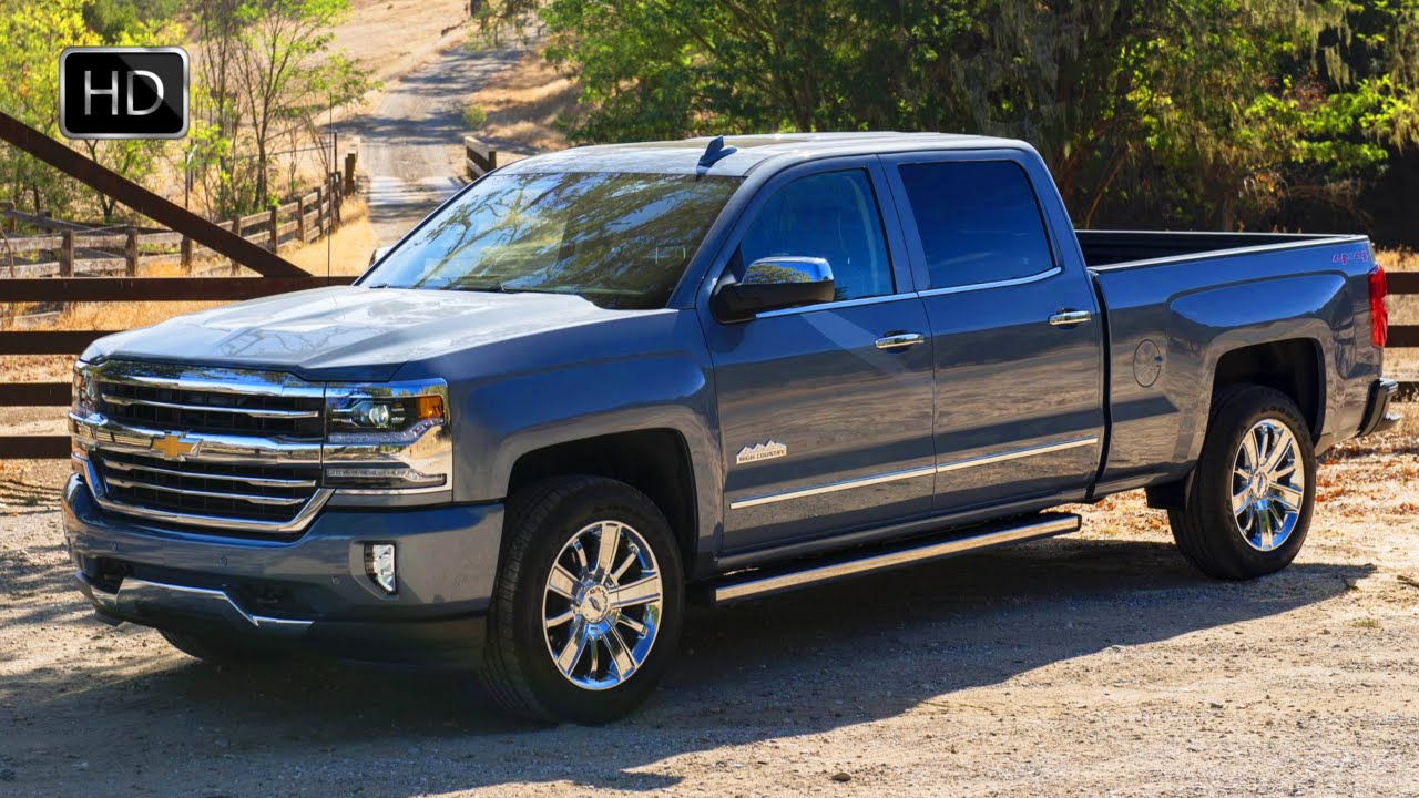 2016 Chevrolet Silverado 1500 High Country Full Size Pickup Truck Test Drive Hd
