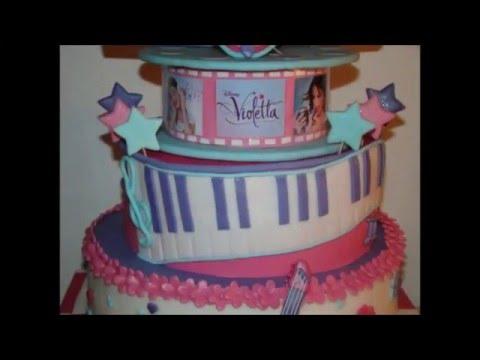 Torta Compleanno Violetta.Le Torte Di Violetta Youtube