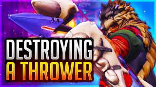 HANZO IS BACK!!!! DESTROYING A THROWER 50+ ELIMS 20K DAMAGE! Overwatch Top 500 Hanzo
