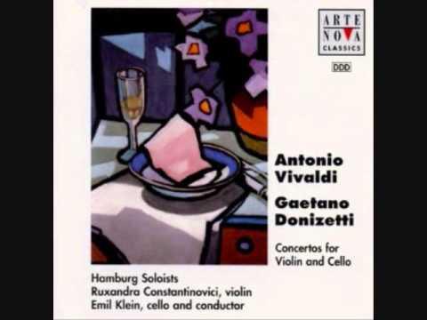 Vivaldi & Donizetti - Concertos for Violin and Cello