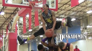 Jonathan Clark CRAZY Splits Dunk Over 3 People Eastbay Funk Dunk Contest