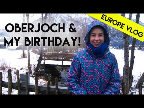 Oberjoch, Germany and My 20th Birthday   Europe Vlog 2